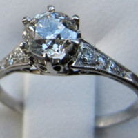 Vintage/Antique European Cut Diamond and by classicsfromthepast