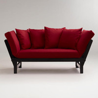 Red Studio Day Sofa Slipcover | World Market