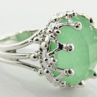 The Duchess's Lost Relic a Ring in Celadon and by wexfordjewelers