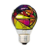 GE 46645 25-Watt Stained Glass Light Bulb - Amazon.com