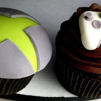 X-Box Cupcakes
