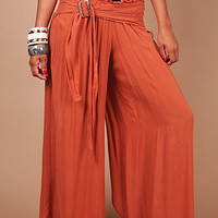 Gypsy Smock Pants - Wide Leg Pants at Pinkice.com