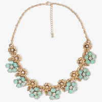 Forest Flowers Collar Necklace