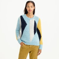 COLLECTION ABSTRACT MOHAIR SWEATER