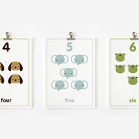 Count the Numbers Flashcards 110 Printable PDF by loopzart on Etsy