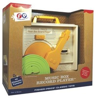 Fisher Price Classic Music Box Record Player