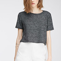High-Waisted Flat-Front Shorts