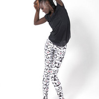 Emotional Panda Leggings - LIMITED | Black Milk Clothing
