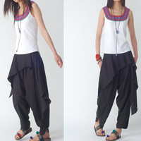Here comes the sun - harem pants (K1202)