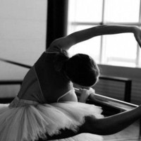 ballet, barre, black and white, dance, elegant - inspiring picture on Favim.com