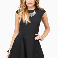 Caught By Surprise Skater Dress $46