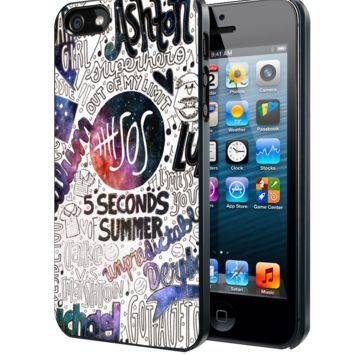 5 Seconds of Summer Collage Samsung Galaxy S3 S4 S5 Note 3 , Iphone 4(S) 5(S) 5C 6 Plus , Ipod 4 5, HTC One M7 M8 Case