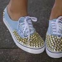 Studded Vans