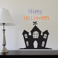 HALLOWEEN Wall Decal  Halloween decorations  Fall by LucyLews