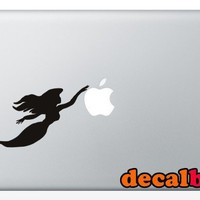 Mermaid Treasure Silhouette 15 inch Macbook Art Vinyl Decal