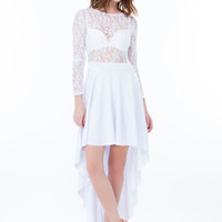 Drama Queen Lacy High-Low Dress