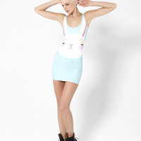 Not Impressed Bunny Dress - LIMITED | Black Milk Clothing