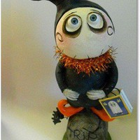 Grimmy large Halloween art doll by SpookyHollow on Etsy