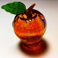 Glass Apple Chillum Pipe