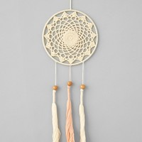 Plum & Bow Crochet Dream Catcher - Ivory One