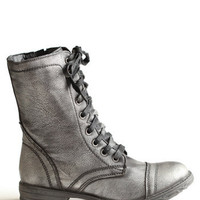 Stomping Ground Combat Boots - $82.00: ThreadSence, Women&#x27;s Indie &amp; Bohemian Clothing, Dresses, &amp; Accessories