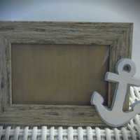 "Personalized Nautical Picture Frame, 4""x6"""