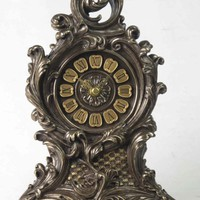 Mantle Clock | Baroque Floral Clock