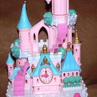 Vintage Polly Pockets Cinderella Enchanted Castle Disney 1990s Toy figures