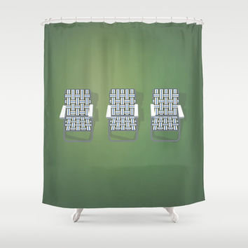 Haim - Days Are Gone Shower Curtain by Brittcorry