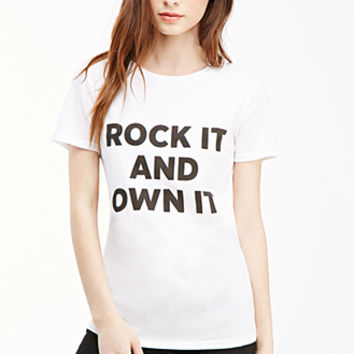Rock It Graphic Tee