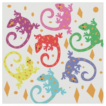 Colorful Lizards
