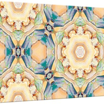 """Caramel Cupcakes Majolika Decor Tile"" by Ginette Callaway"