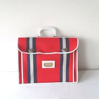 Vintage Nautical Tote Summer Fashion