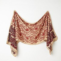 Free People Embroidered Dahlia Scarf