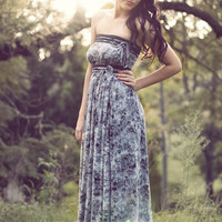 Lilith Maxi in Smoke by Archella on Etsy