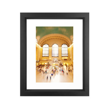 Golden Grand Central Print