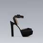 HIGH HEEL SANDAL WITH ANKLE STRAP - Shoes - Woman - ZARA Canada