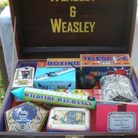 Harry Potter Needlecraft Trunk and Clue Trunk | The Crafty Cauldron