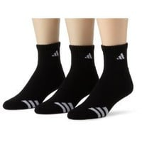 adidas Men`s Cushioned 3ST 3-Pack QTR Sock $11.99 - $14.00
