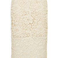 Cord Lace Pencil Skirt - Skirts - Clothing