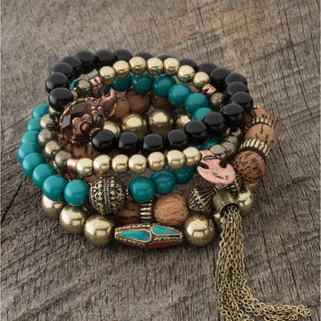 energy and passion bracelet set - Lacey Ryan Collection
