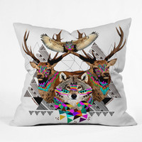 DENY Designs Home Accessories | Kris Tate Forest Friends Throw Pillow