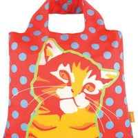 Cute Finds Fold-Up Bag in Feline | Mod Retro Vintage Bags | ModCloth.com