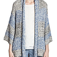 Vince - Striped Open-Front Cardigan - Saks Fifth Avenue Mobile