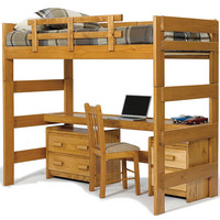 Boone Twin College Loft Bed