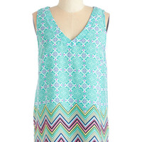 ModCloth Mid-length Sleeveless Everyday Darling Top