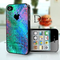 Colorful background - iPhone 4S and iPhone 4 Case Cover
