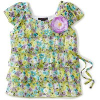 My Michelle Girls 7-16 Volumouse Top $25.20