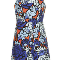 Paris Floral Pinny Dress - Multi