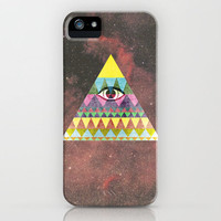 Pyramid in Space. iPhone Case by Nick Nelson | Society6